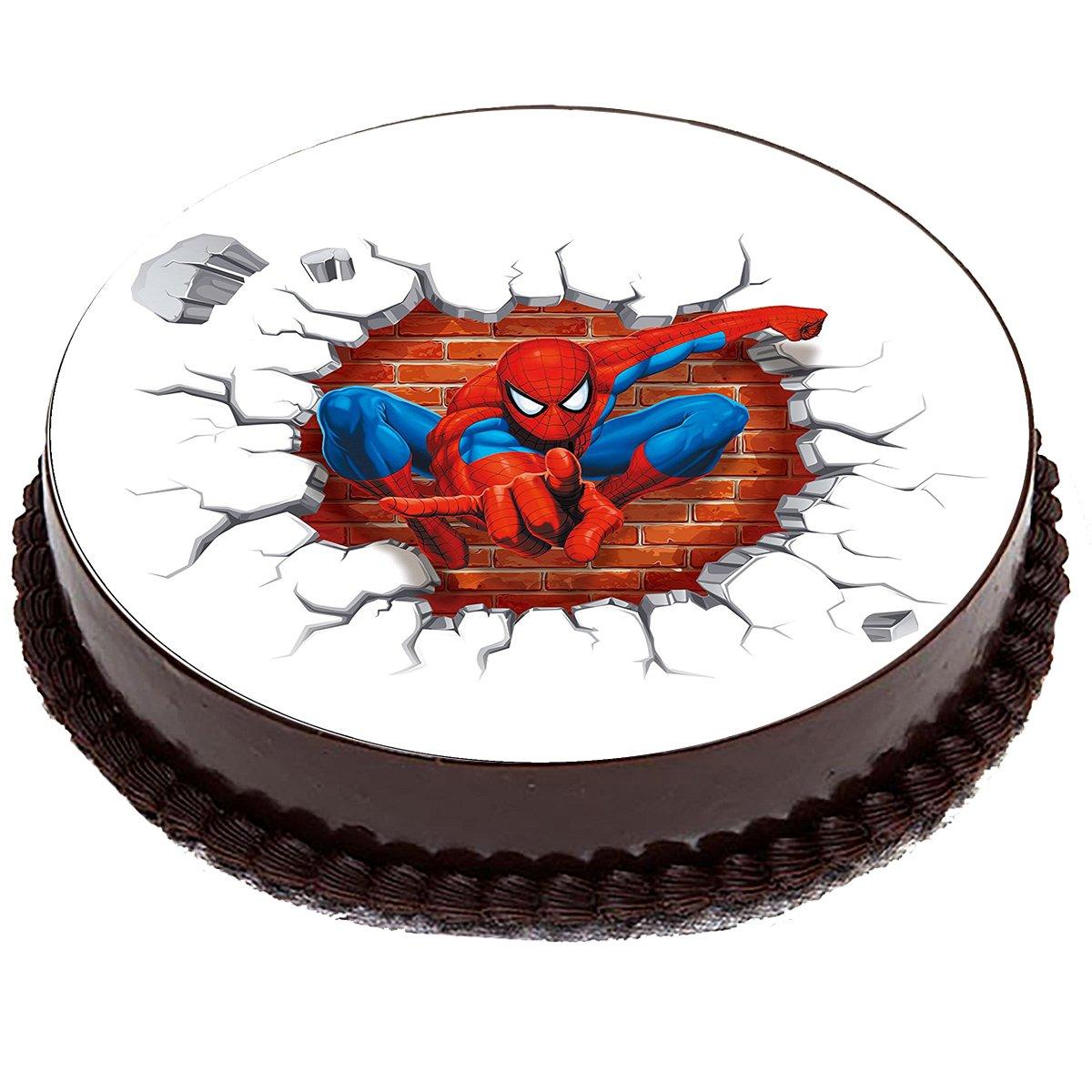 результате торт с сахарной картинкой человек паук фото интернет-магазина позволяют познакомить